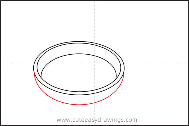 How to Draw a Pan Step by Step