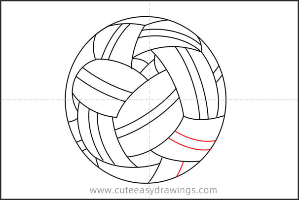 How to Draw a Ball in Cuju Step by Step