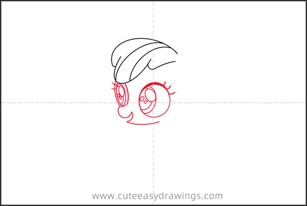 How to Draw Apple Bloom Step by Step