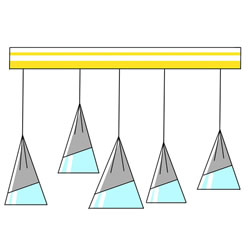 How to Draw a Chandelier Step by Step