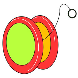 How to Draw a YO-YO Step by Step