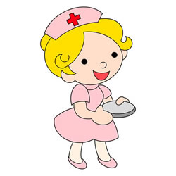 How to Draw a Cartoon Nurse Step by Step
