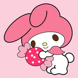How to Draw My Melody Step by Step