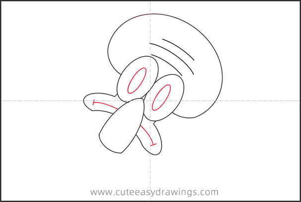How to Draw Squidward Tentacles Avatar Step by Step