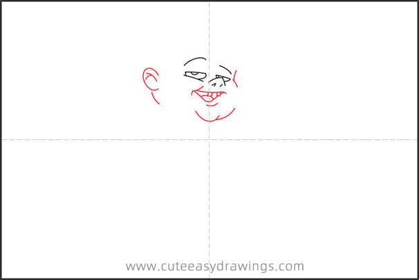 How to Draw a Fat Boy Step by Step