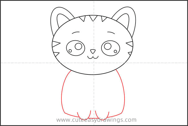 How to Draw a Kitten Step by Step