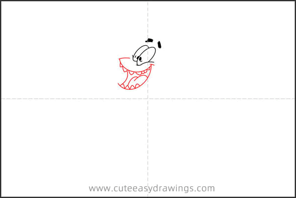 How to Draw Patrick Star Dancing Step by Step
