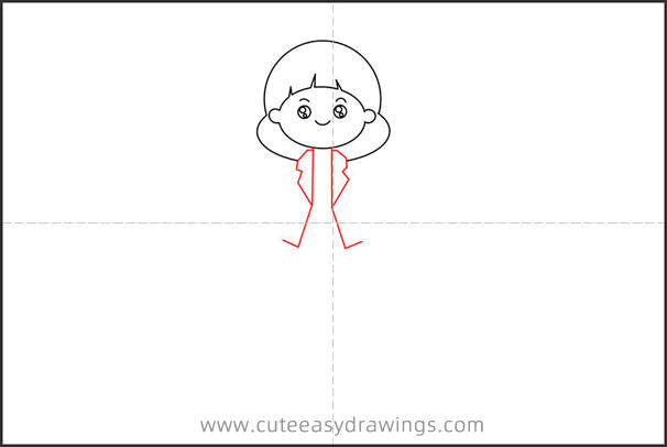 How to Draw a Cartoon Mom Step by Step