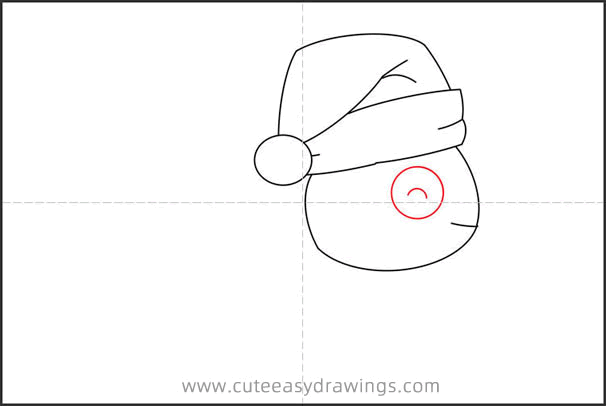 How to Draw a Christmas Turtle Step by Step