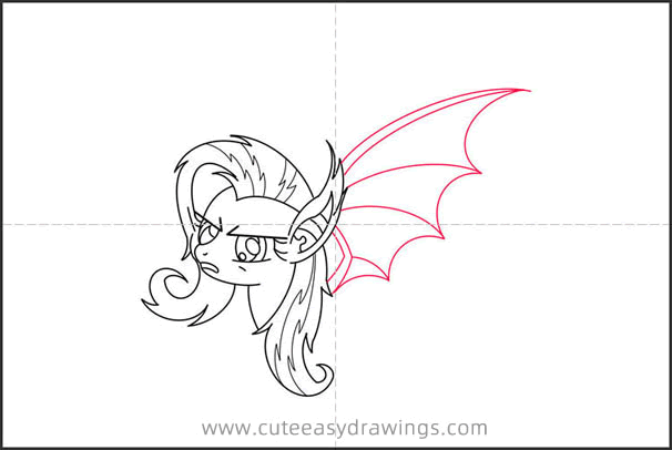 How to Draw a Pony with Wings Step by Step
