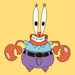 How to Draw Eugene H. Krabs Step by Step