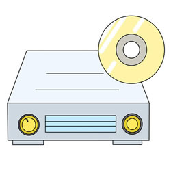 How to Draw a DVD Player Step by Step