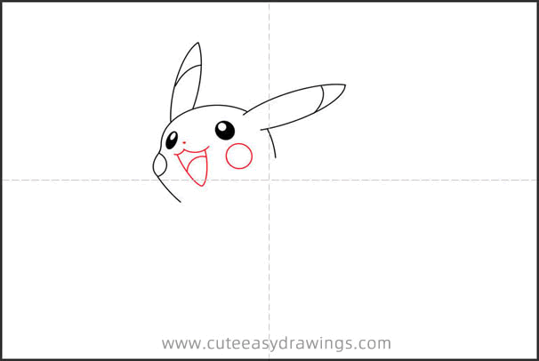 How to Draw a Pikachu Jumping Step by Step