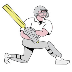 How to Draw a Cricket Player Step by Step