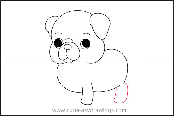 How to Draw a Pug Step by Step