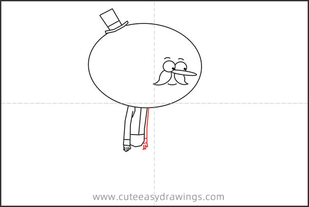 How to Draw Pops from Regular Show Step by Step