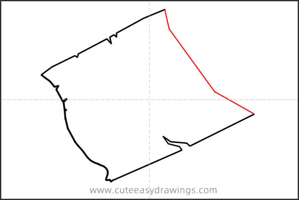 How to Draw a Cartoon Treasure Map Step by Step