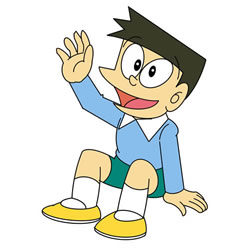 How to Draw Suneo Step by Step