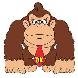 How to Draw Donkey Kong Step by Step