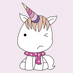 How to Draw a Little Unicorn Step by Step