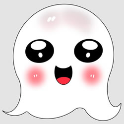 How to Draw a Cute Ghost Step by Step
