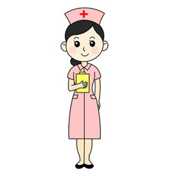 How to Draw a Nurse at Work Step by Step