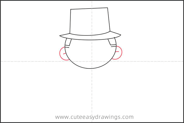 How to Draw a Cartoon Gentleman Step by Step