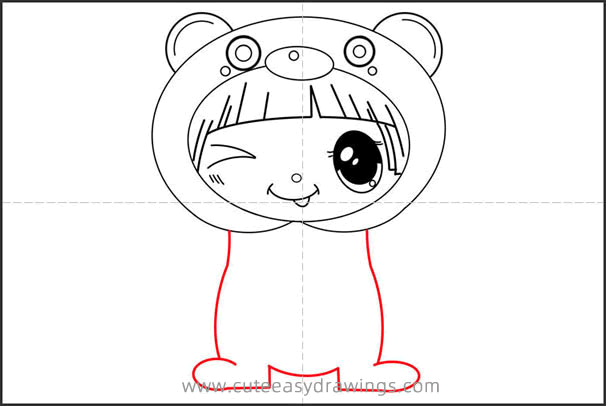 How to Draw a Baby Girl Step by Step