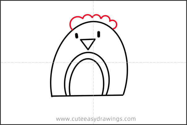 How to Draw a Christmas Robin Bird Step by Step