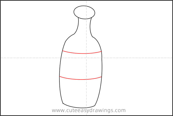 How to Draw a Cartoon Bottle Step by Step