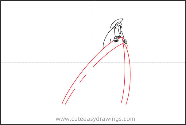 How to Draw a Sinking Ship Step by Step