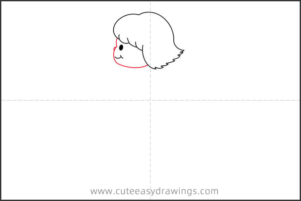 How to Draw a Girl and Whale Step by Step