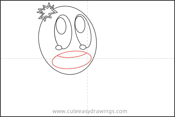 How to Draw Exploding Balloons Step by Step