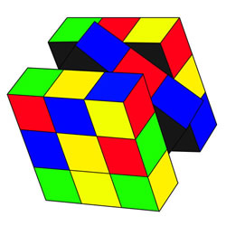 How to Draw a Rubik's Cube Step by Step