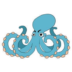How to Draw an Octopus Step by Step