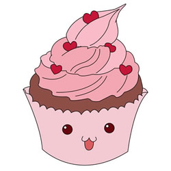 How to Draw a Cute Cupcake