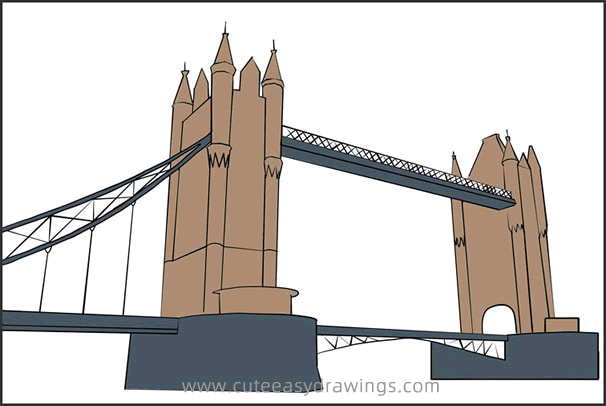 How to Draw the Tower Bridge