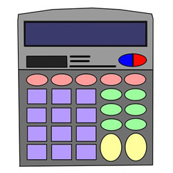How to Draw a Calculator