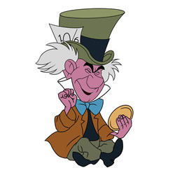How to Draw Cartoon Mad Hatter