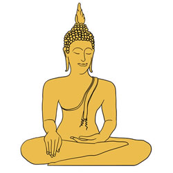 How to Draw a Buddha Statue