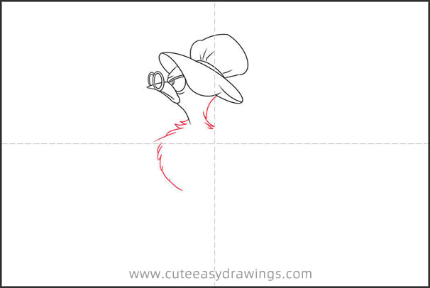 How to Draw the Mother Bird from Alice in Wonderland