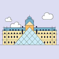 How to Draw the Louvre