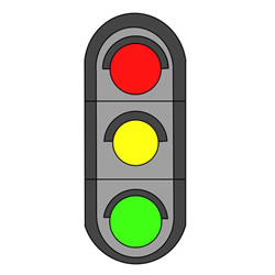 How to Draw a Traffic Light