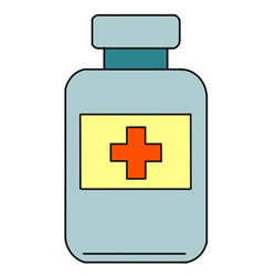 How to Draw a Medicine Bottle
