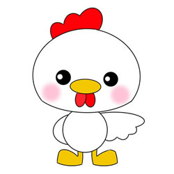 How to Draw a Chick for Kids