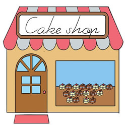How to Draw a Cake Shop