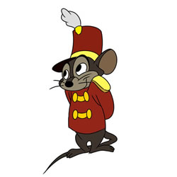How to Draw Timothy Q. Mouse from Dumbo