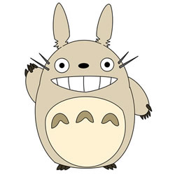 How to Draw Totoro Greeting