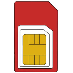 How to Draw a SIM Card