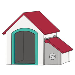 How to Draw a Doghouse